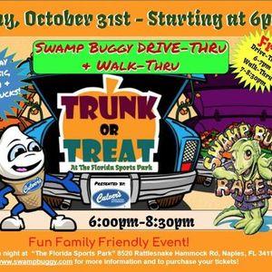Swamp Buggy Drive-ThruWalk-Thru Trunk or Treat presented by Culvers