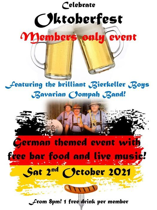 Featuring the Bierkeller Boys Bavarian Oompah Band!, 2 October | Event in Worthing | AllEvents.in