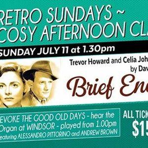 Retro Sundays Brief Encounter