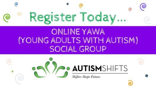 YAWA (Young Adults With Autism) Social Group, 26 January   Online Event   AllEvents.in