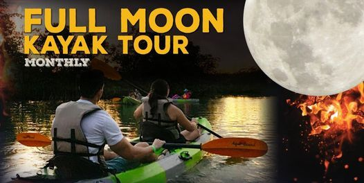 Full Moon Kayak Tour | Event in North Miami Beach | AllEvents.in