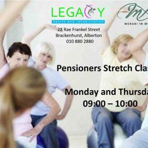 Bio Stretch Pensioners Class