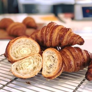 Croissants by hand