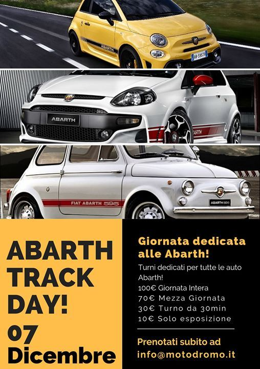 Abarth Track Day