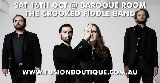 The Crooked Fiddle Band Live in Concert at Baroque Room, Katoomba NSW, 16 October | Event in Katoomba  | AllEvents.in