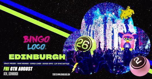 Bingo Loco Edinburgh - August, 6 August | Event in Edinburgh | AllEvents.in