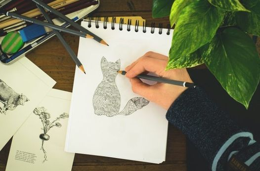 Club online de Desen: Creativitate, inspiraţie, relaxare, 28 April | Online Event | AllEvents.in