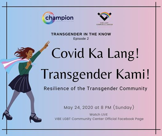 Transnder In The Know Ep. 2 - Covid Ka Lang Transgender Kami