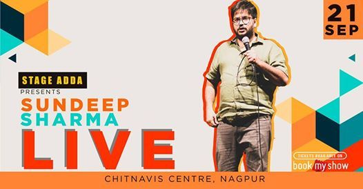 Stage Adda Presents - Sundeep Sharma Live (Nagpur)