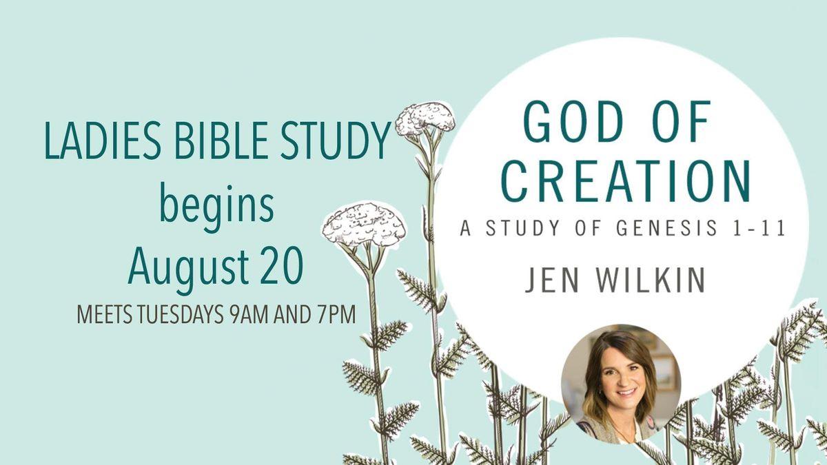God of Creation  Fall Ladies Bible Study