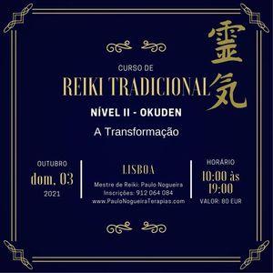 Curso de Reiki Tradicional Nvel II
