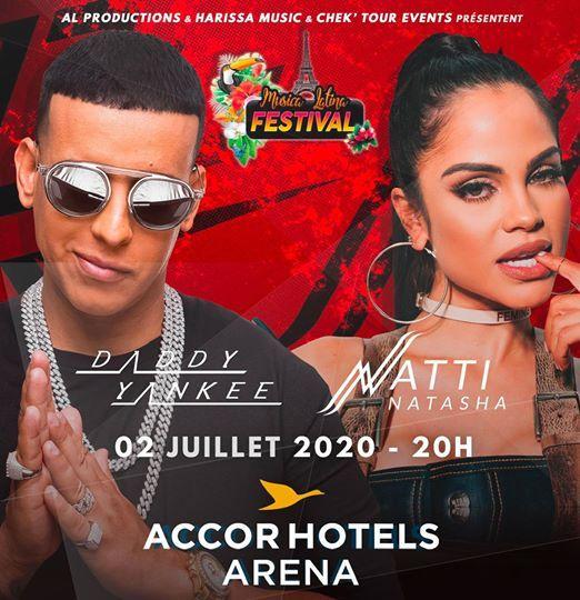 Daddy Yankee & Natti Natasha & Lunay - AccorHotels Arena