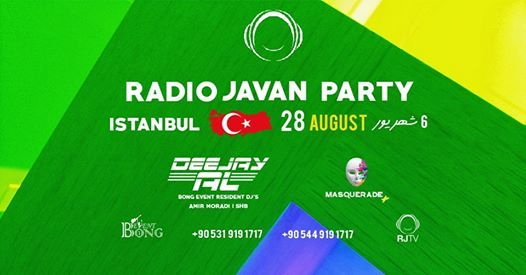 Radio Javan - Entertainment Events in Istanbul | Get Tickets on