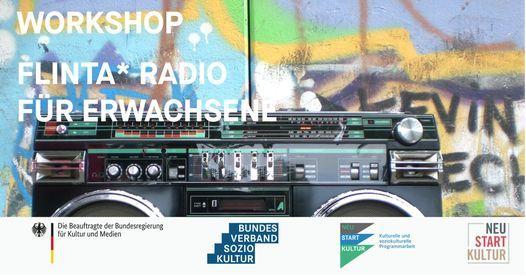 FLINTA* Radio im Gängeviertel, 1 August   Event in Hamburg   AllEvents.in
