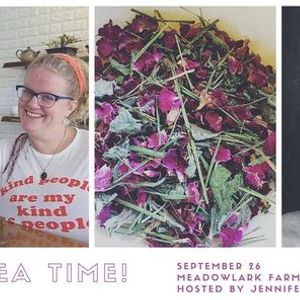 Tea Time An Herb and Leather Workshop