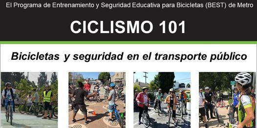 Ciclismo 101: Bicicletas y seguridad en el transporte público - En línea, 15 May   Online Event   AllEvents.in