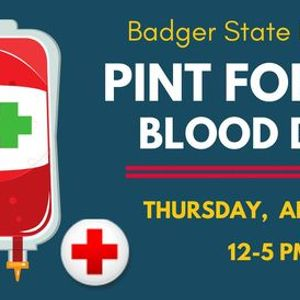 Badger State Pint for Pint Blood Drive