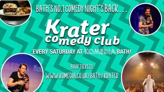 Krater Comedy Club | Event in Bath | AllEvents.in
