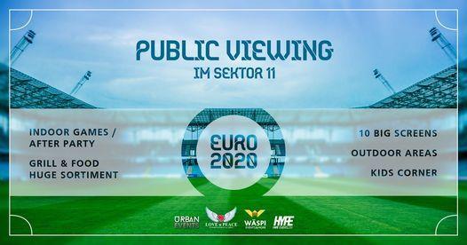 Public Viewing Essen Em 2021