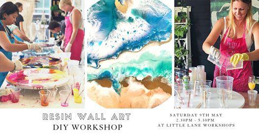 Resin Wall Art Workshop