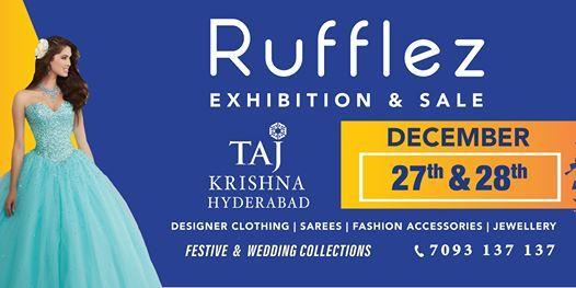 Rufflez Exhibition & Sale - Taj Krishna Hyderabad