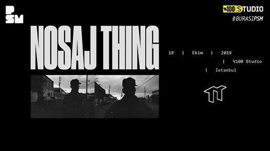 Nosaj Thing (Live)
