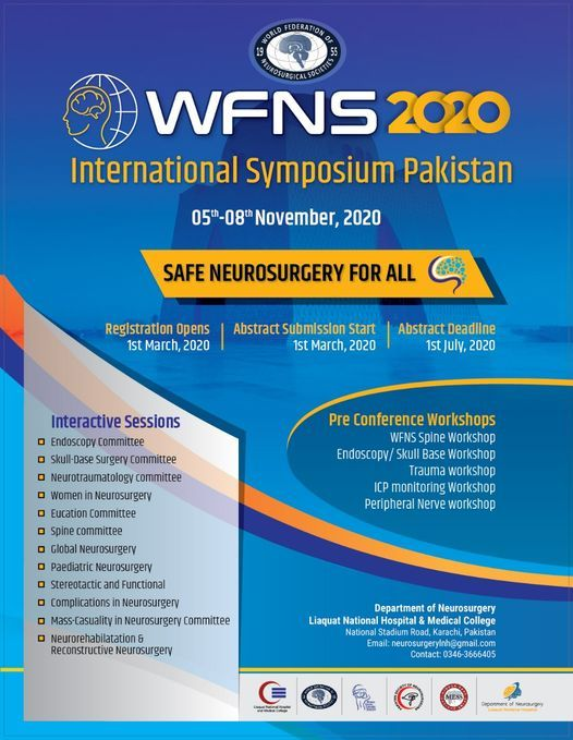 WFNS International Symposium Pakistan 2020