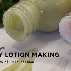 Body Lotion Making