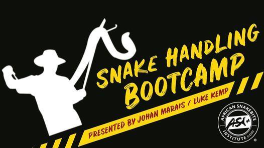 Venomous Snake Handling Bootcamp, 26 September | Event in Brackenfell | AllEvents.in