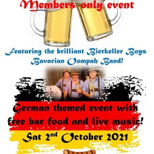 Featuring the Bierkeller Boys Bavarian Oompah Band
