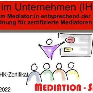 Mediator-in im Unternehmen (IHK)
