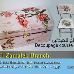 Decoupage course for beginners