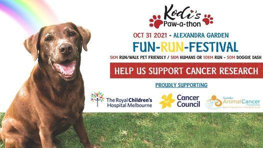 Kodi Paw-a-Thon Fun Run Festival, 31 October | Event in Melbourne | AllEvents.in