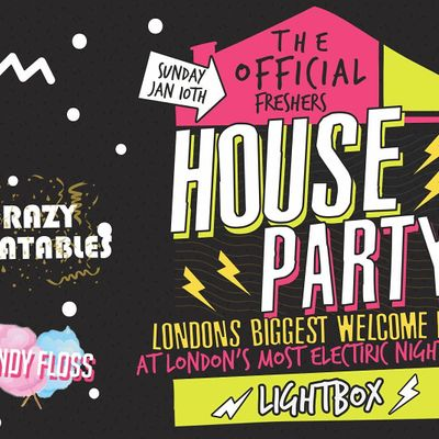 The Official London Freshers House Party - Sold Out Every Year