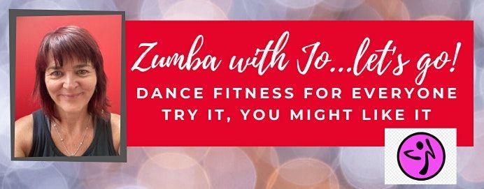 Zumba With Jo - Lets Go - ZUMBA GOLD CLASS SATURDAYS