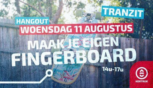 Hangout: Fingerboards maken, 11 August   Event in Kortrijk   AllEvents.in
