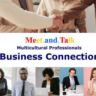 Multicultural Social Business Connection