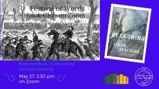 Festival of Words Book Club on Zoom, 27 May | Online Event | AllEvents.in