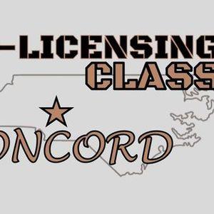 Pre-Licensing Class - Concord