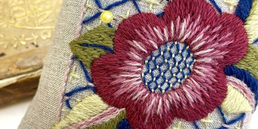May Morris-Inspired Pincushion, 18 December   Online Event   AllEvents.in