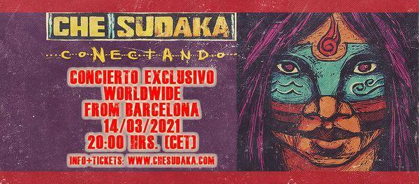 Che Sudaka Online Konzert | Budapest - A38, 14 March | Online Event | AllEvents.in