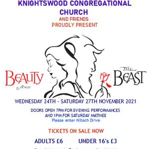 KCC Pantomime 2021 BEAUTY AND THE BEAST