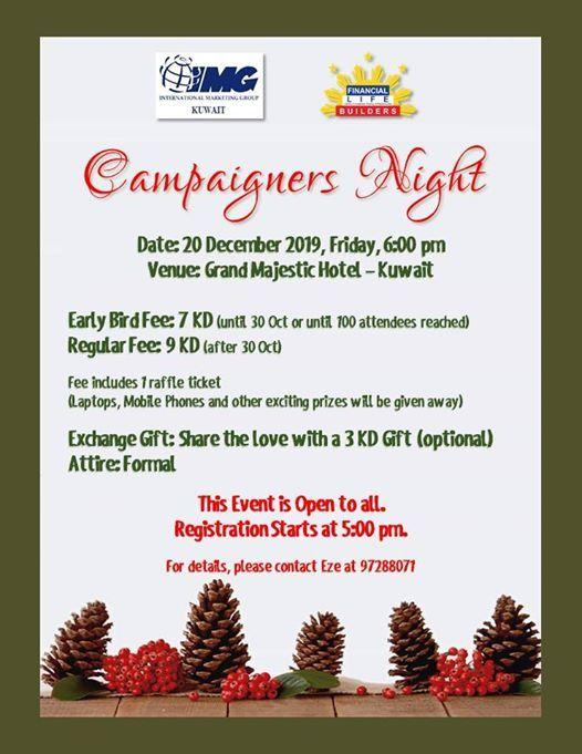 IMG Kuwait Campaigners Night