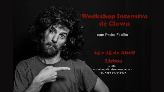 Workshop Intensivo de Clown, 24 April | Event in Queluz | AllEvents.in