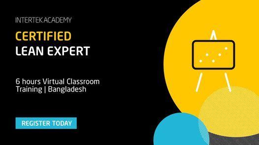 Certified Lean Expert - Virtual Classroom Training