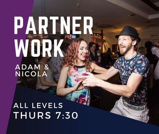 Salsa Partnerwork with Adam & Nicola  Salsa Liverpool Online