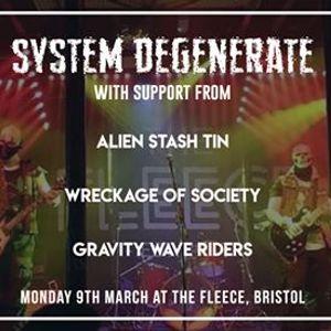 System Degenerate & Support at The Fleece Bristol