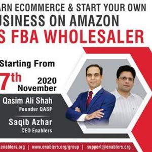 Learn E-Commerce as FBA Amazon Wholesaler