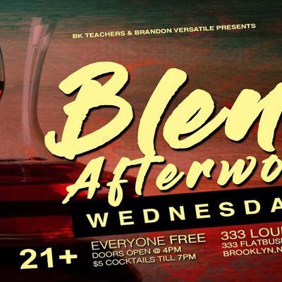 BLEND Afterwork WEDNESDAYS