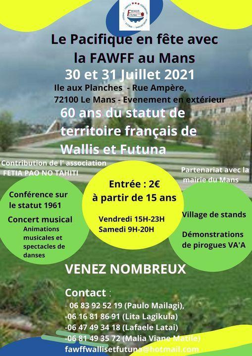 60 ans du statut 1961 Wallis-et-Futuna | Event in Le Mans | AllEvents.in